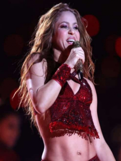 Shakira y el Pibe Valderrama