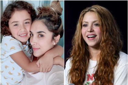 Salomé Rodríguez, Daniela Ospina y Shakira
