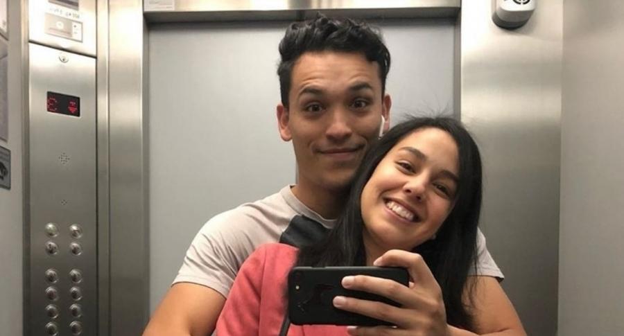 Mattias Bylin y Ana María Estupiñán