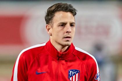 Santiago Arias,lateral del Atlético de Madrid.
