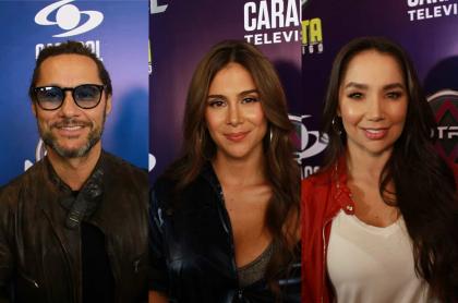 Diego Torres, Greeicy Rendón, Paola Jara y Diego Sáenz