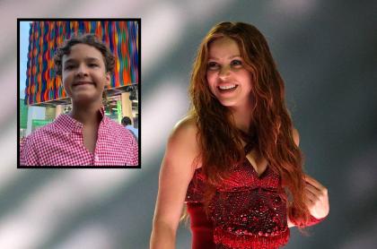 Shakira y Samuel Quintero