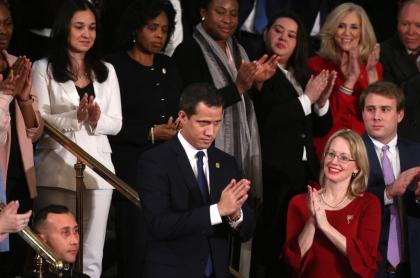 Juan Guaidó, en el discurso del Estado de la Unión