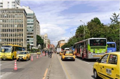 Dia sin carro en Bogotá