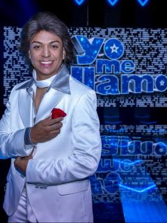 Luis Alberto Sánchez, imitador de Roberto Carlos que ganó 'Yo me llamo' 2020.