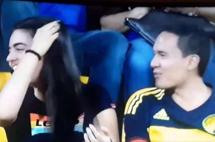 Aficionados de la Selección Colombia