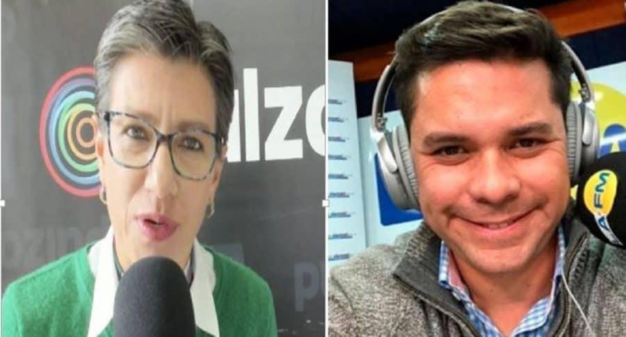 Claudia López y Luis Carlos Vélez