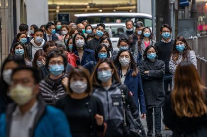 Hong Kong, durante epidemia de coronavirus
