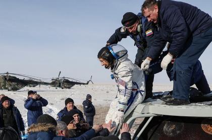 Astronauta Christina Koch, récord de una astronauta mujer en el espacio