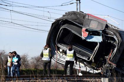 Accidente tren Italia