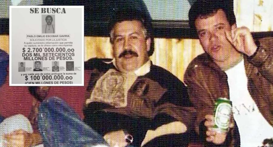 Alias 'Popeye' y Pablo Escobar.