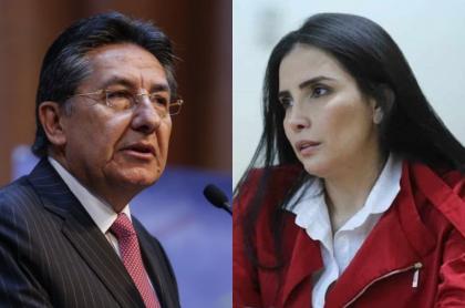 Néstor Humberto Martínez y Aída Merlano