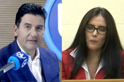 Néstor Morales y Aída Merlano