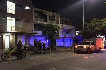 Vivienda en la que fueron asesinadas las dos estudiantes de la Universidad Industrial de Santander