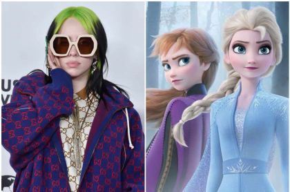 Billie Eilish y Frozen II
