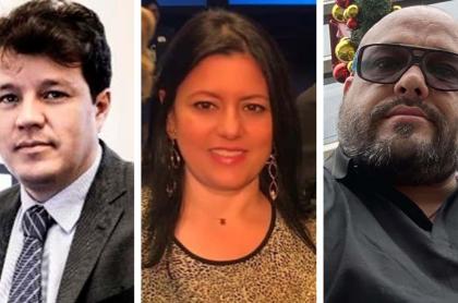 Víctor Muñoz, Claudia Bustamante, Carlos Escobar
