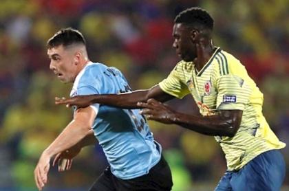 Selección Colombia vs. Uruguay