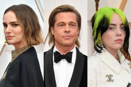 Natalie Portman, Brad Pitt y Billie Eilish