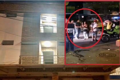 Apartamento en el que fueron asesinadas las universitarias / riña previa al doble crimen.