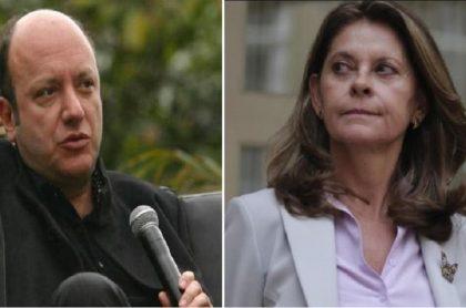 Julio Sánchez y Marta Lucía Ramírez