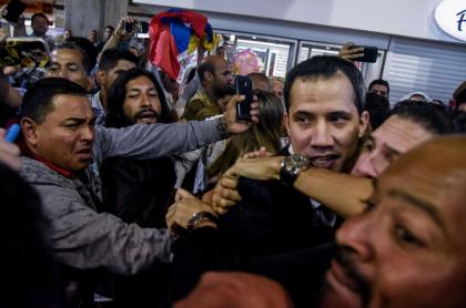 Regreso de Juan Guaidó a Venezuela