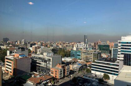 Alerta amarilla en toda Bogotá por contaminación.