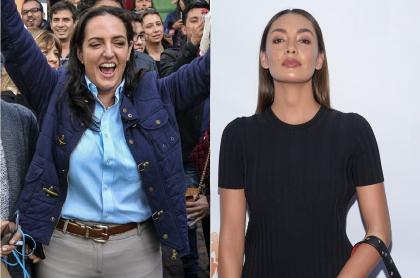 María Fernanda Cabal, senadora, y Carolina Guerra, periodista.
