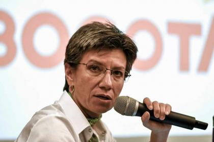 Claudia López anuncia simulacro.