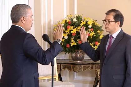 Posesión de Francisco Barbosa como fiscal general de la Nación