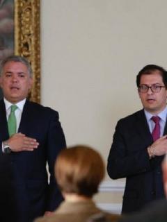 Posesión del fiscal Barbosa