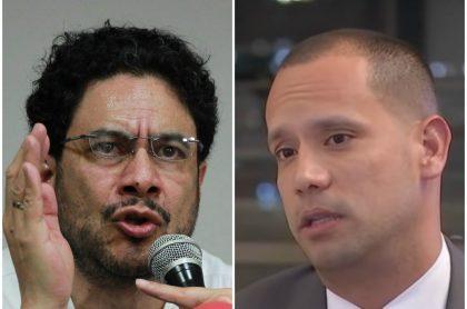Iván Cepeda y Diego Cadena