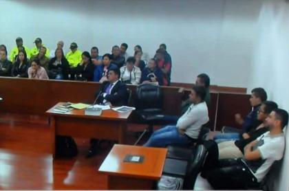 Audiencia de presuntos narcotraficantes