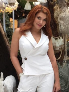 Lady Noriega, actriz, exreina y cantante, y 'el Tino' Asprilla, exfutbolista.