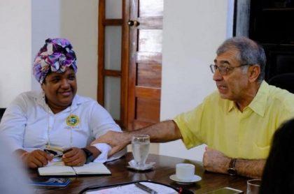 Primera dama en Cartagena