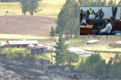 5 Capturados en laboratorio de coca en finca de embajador de Colombia en Uruguay, Fernando Sanclemente.