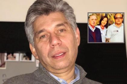 Daniel Coronell, periodista; Álvaro Uribe, expresidente y senador; y Carlos Escobar, contratista.