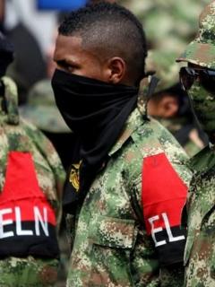 Ejercito de Venezuela y ELN.
