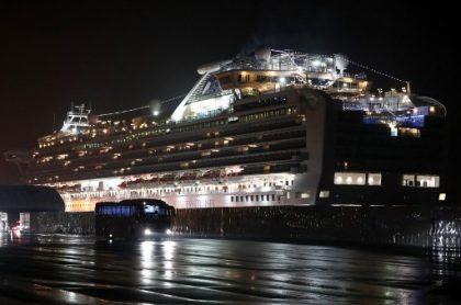 Crucero cuarentena coronavirus