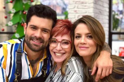 Juan Diego Vanegas, Yaneth Waldman y Ángela Cardozo