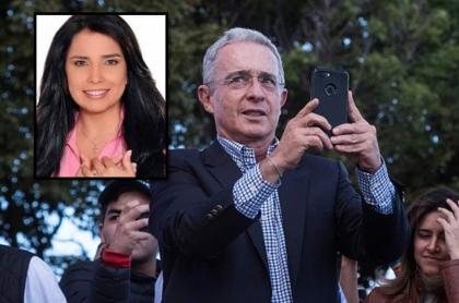 Uribe y Aida Merlano