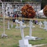 Exhumación en cementerio de Dabeiba