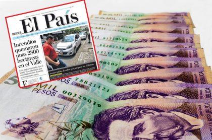 El País de Cali y dinero
