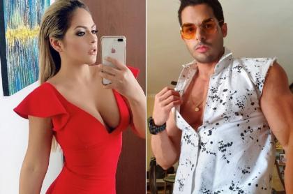 Laura Ojeda y Jonathan Fierro, exprotagonistas.
