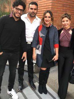 Santiago Alarcón, Mauricio Mejía, 'Chichila' Navia y Diana Belmonte