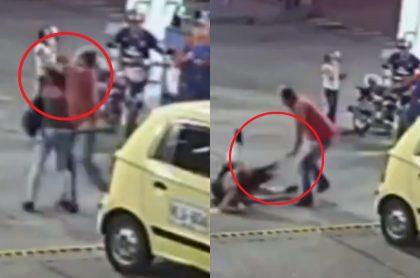 Taxista golpeó a mujer en Cartago