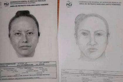 Retratos de asesina de Fátima