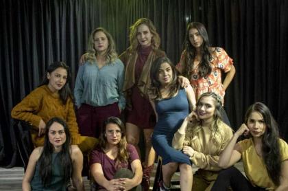 'Chichila' Navia y el grupo 'Chicass Impro'