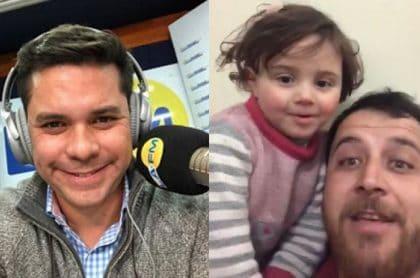 Luis Carlos Vélez, Abdullah y su hija