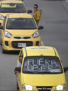¡Taxistas van a paro nacional el 16 de marzo! Al menos 7 asociaciones participarán