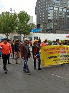 Marchas de Fecode en Bogotá